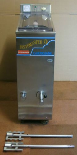 Carpigiani Pastomaster 60 Litre Commercial S-S Mechanical Pasteurizer 3Phase